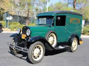 FORD MODEL A Ford Model A Panel Delivery